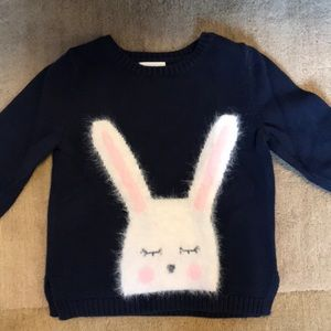 Adorable bunny sweater